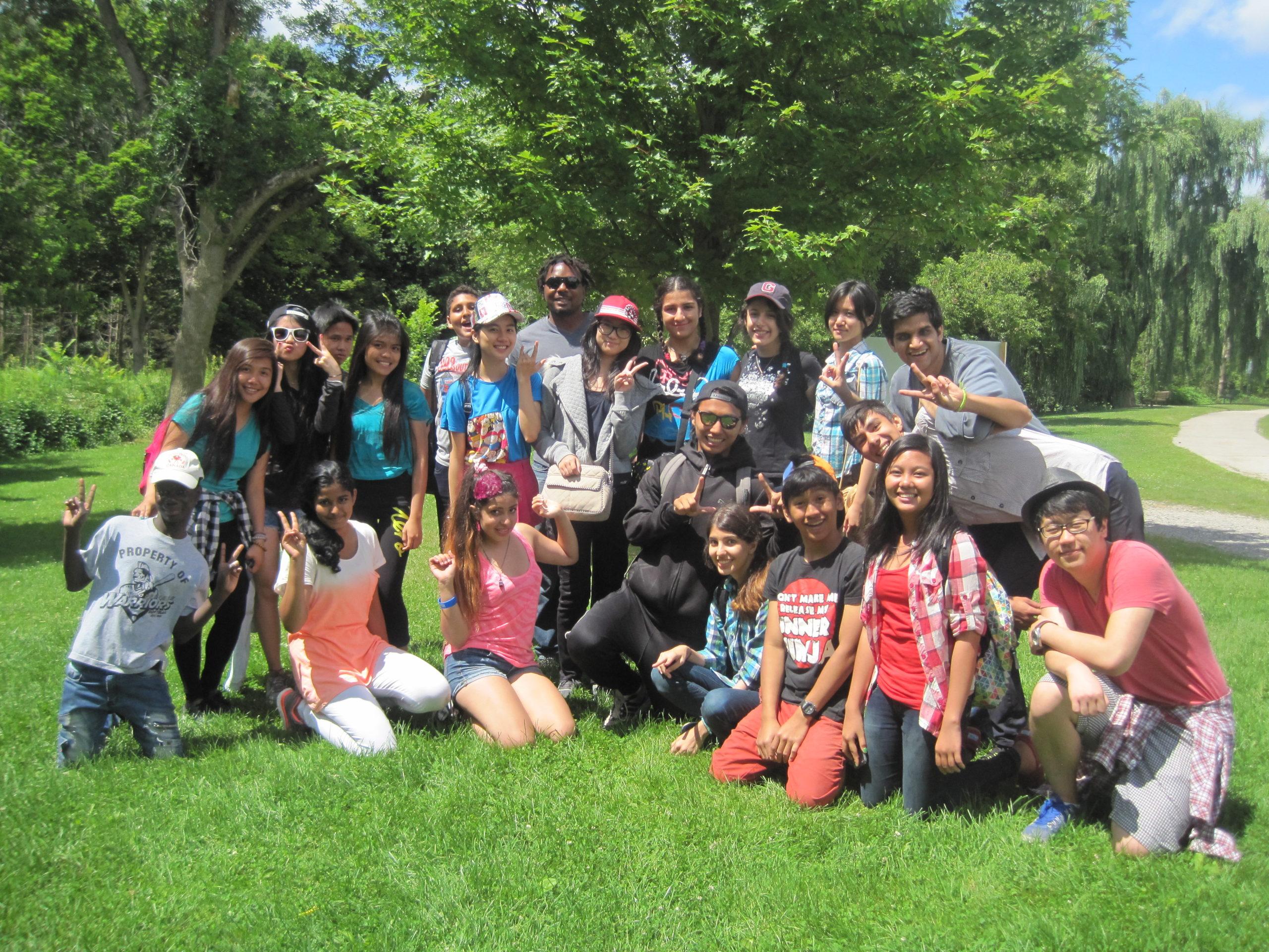 Newcomer Youth Leadership Development