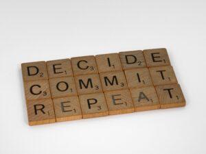 Decide-Commit-Repeat